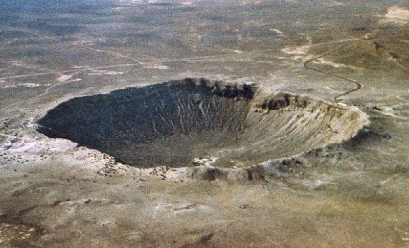 Krater Meteorytowy w Arizonie