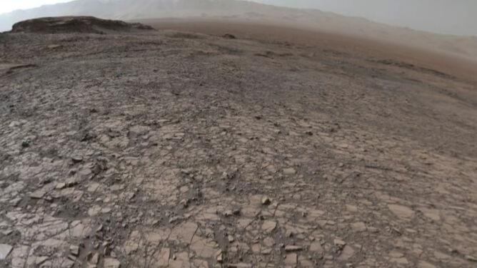 Zobacz niezwykłe zdjęcie 360 stopni <br />z powierzchni Czerwonej Planety