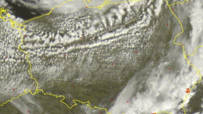 Od Ziemi Lubelskiej po Małopolskę. <br />Sprawdź, gdzie jest burza