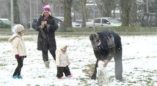 Śnieg zawitał do Grecji