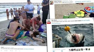 Dwoje nastolatków zaatakowanych przez rekina. 16-latek stracił rękę